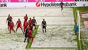 O Bayern dificilmente salvou 1 ponto na Arena Allianz