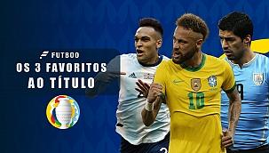 As seleções favoritas ao título da Copa América