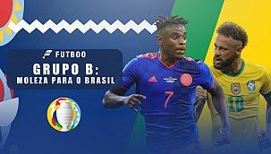 Grupo B, uma moleza para a seleção brasileira!