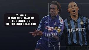 Os craques do futebol italiano da década de 90
