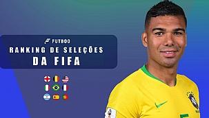 Confira o ranking das 20 melhores seleções da Fifa