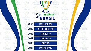 Confira os últimos 10 campeões da Copa do Brasil